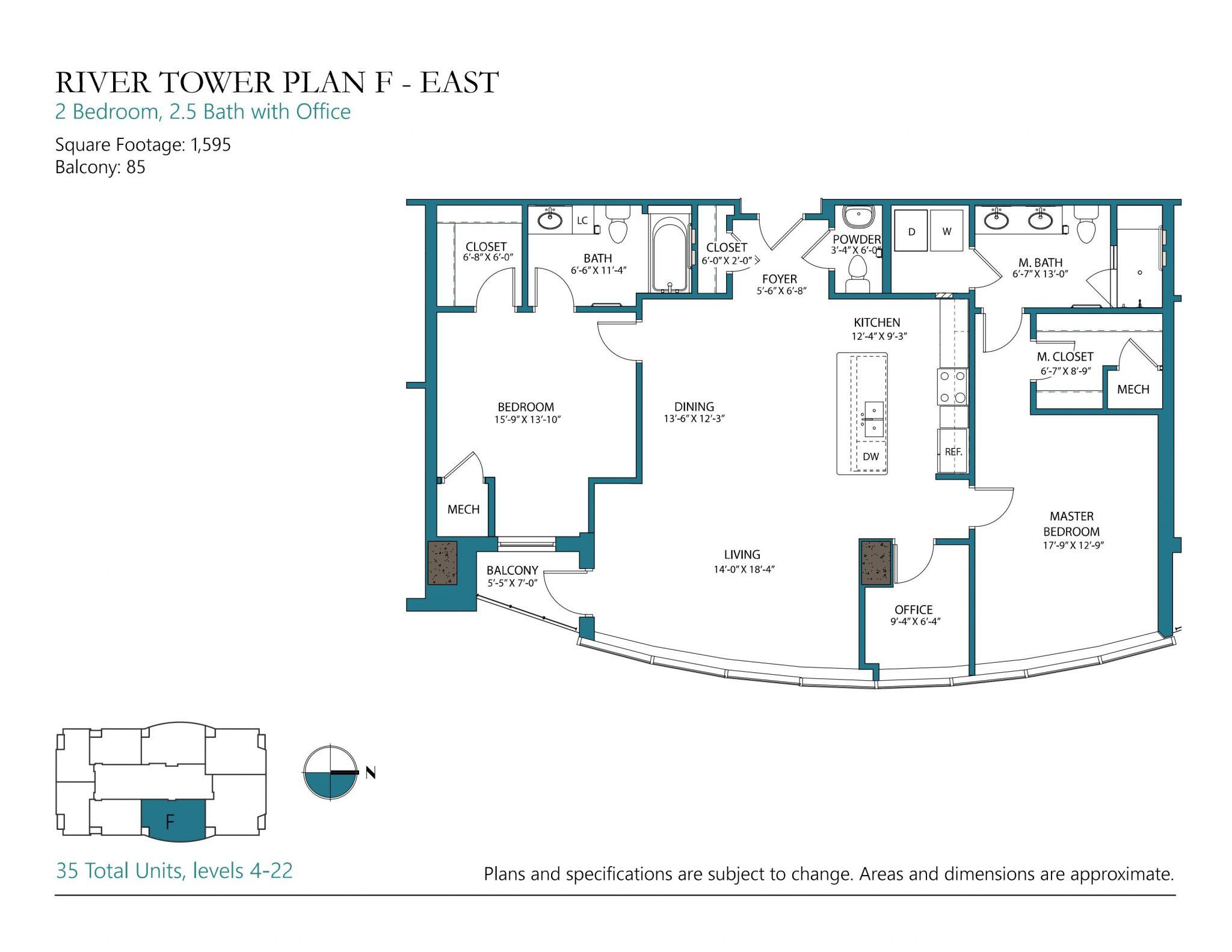 Plan F East