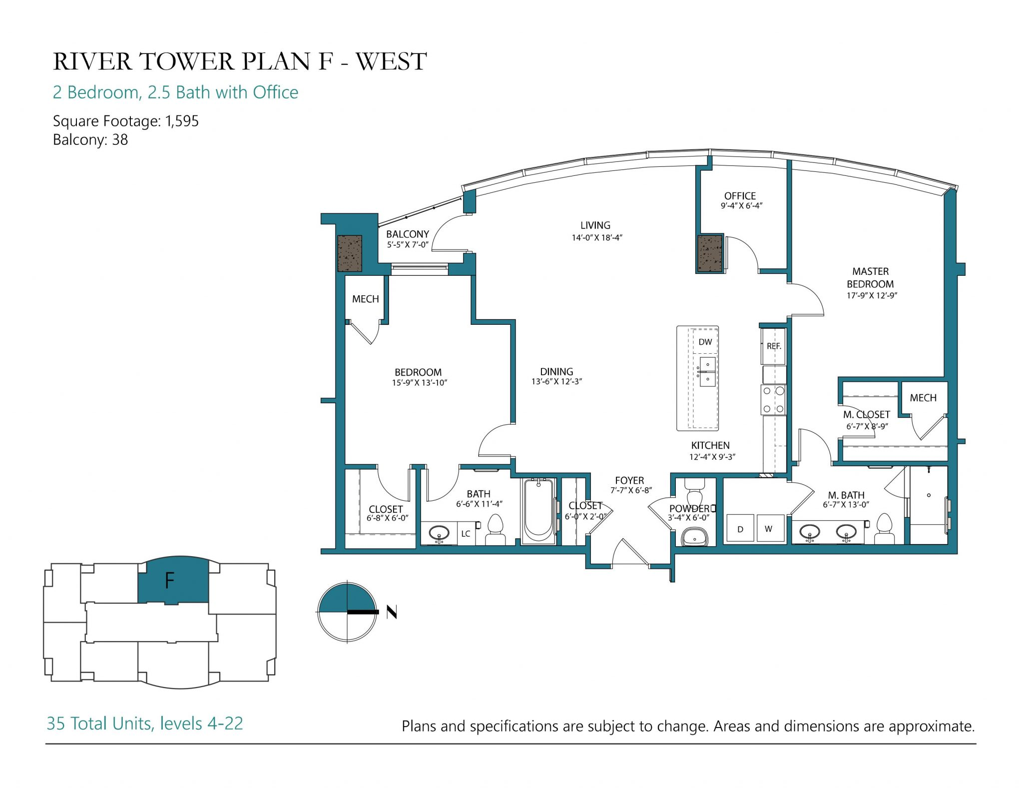 Plan F West