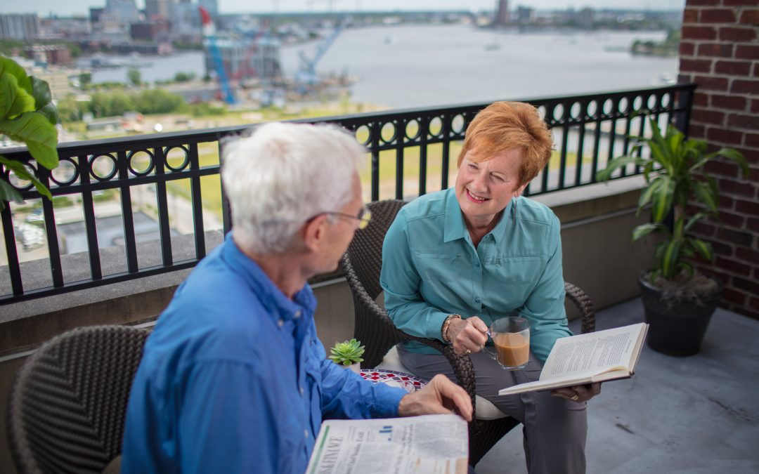 Harbor's Edge: A retirement community offering a harbor front luxury